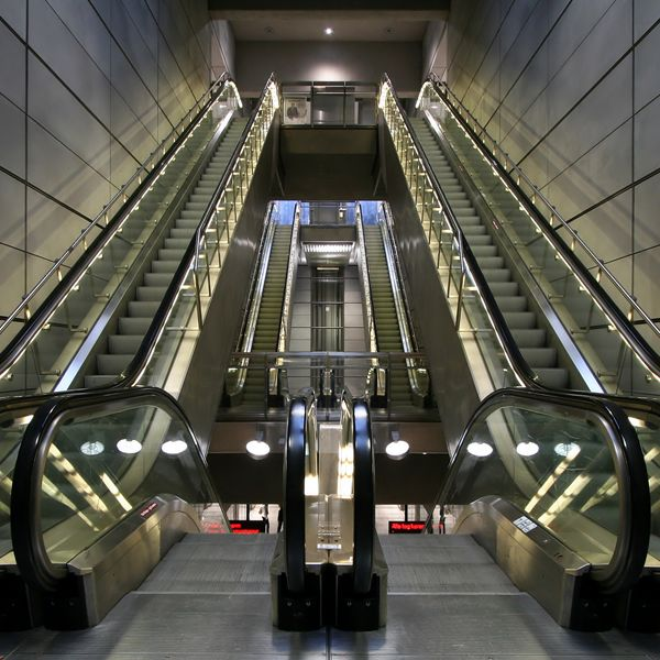 Escalators and Moving Walk